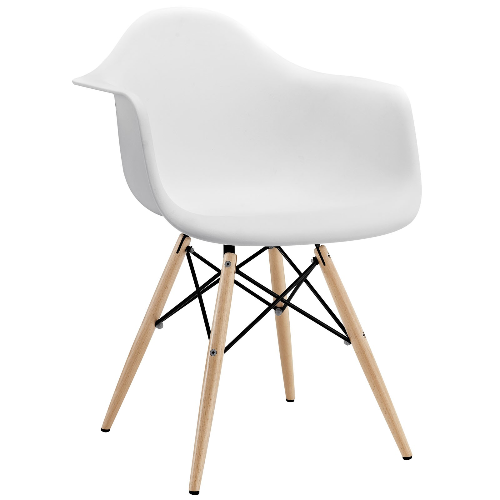 Pyramid Dining Arm Chair Dowel Legs