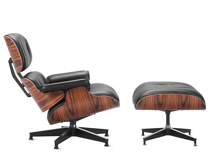 Eames Lounge Chair Ottoman Replica