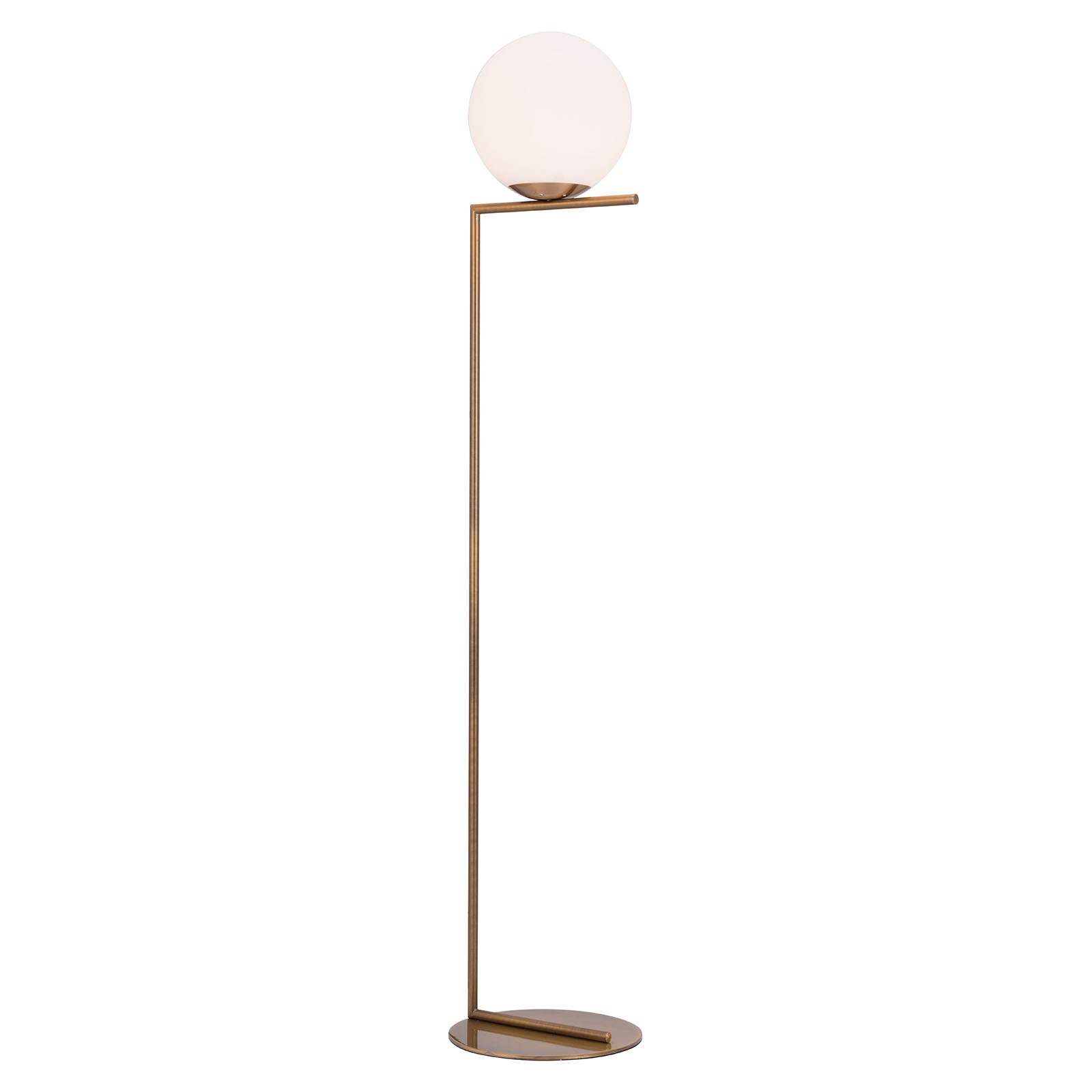 Belair Floor Lamp in Brass