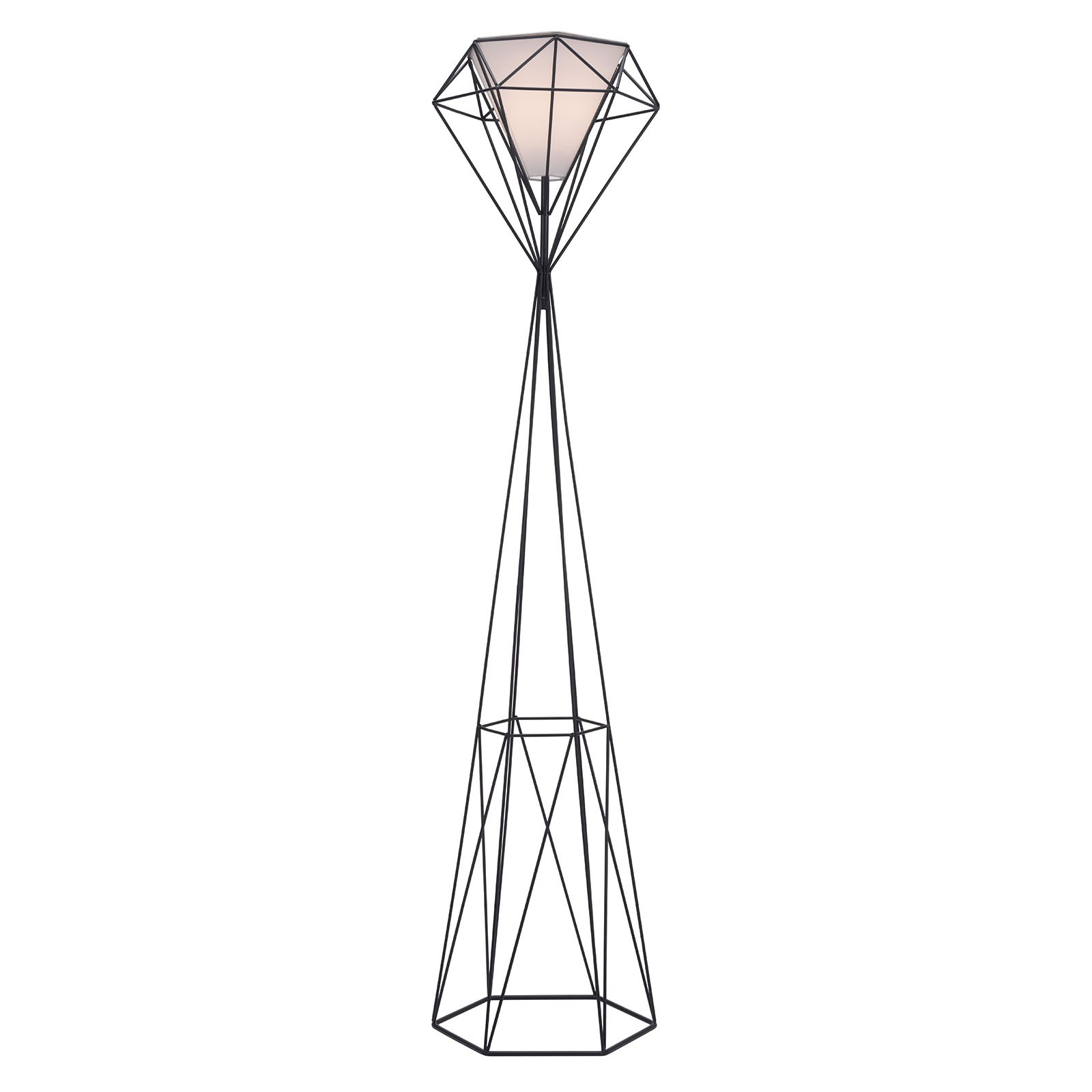 Delancey Floor Lamp in Black