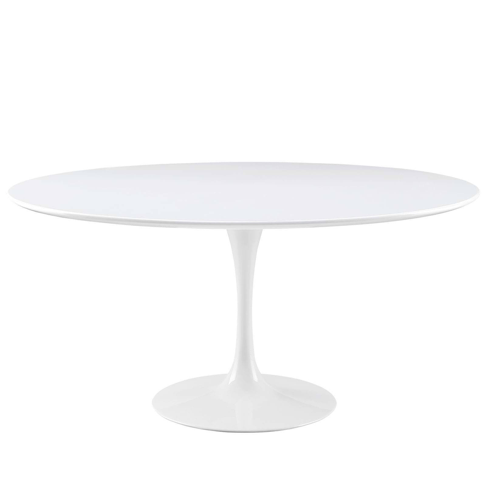 "Lippa 60"" Wood Top Dining Table"