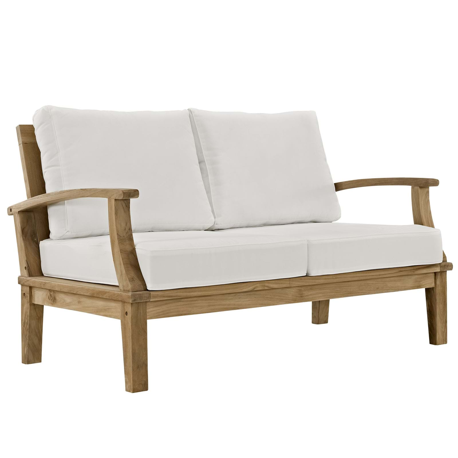 Marina Outdoor Patio Teak Loveseat