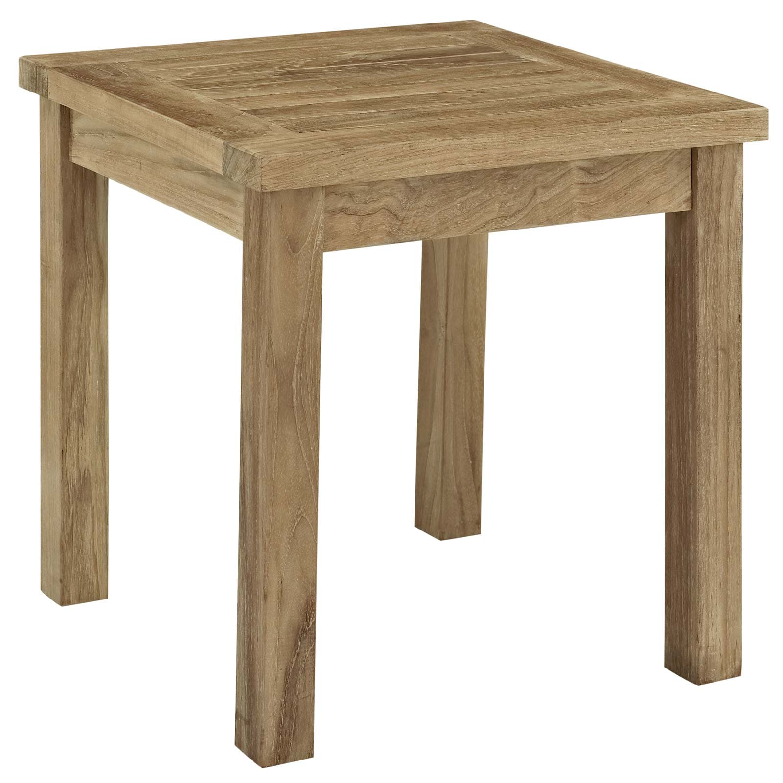 Marina Outdoor Patio Teak Side Table