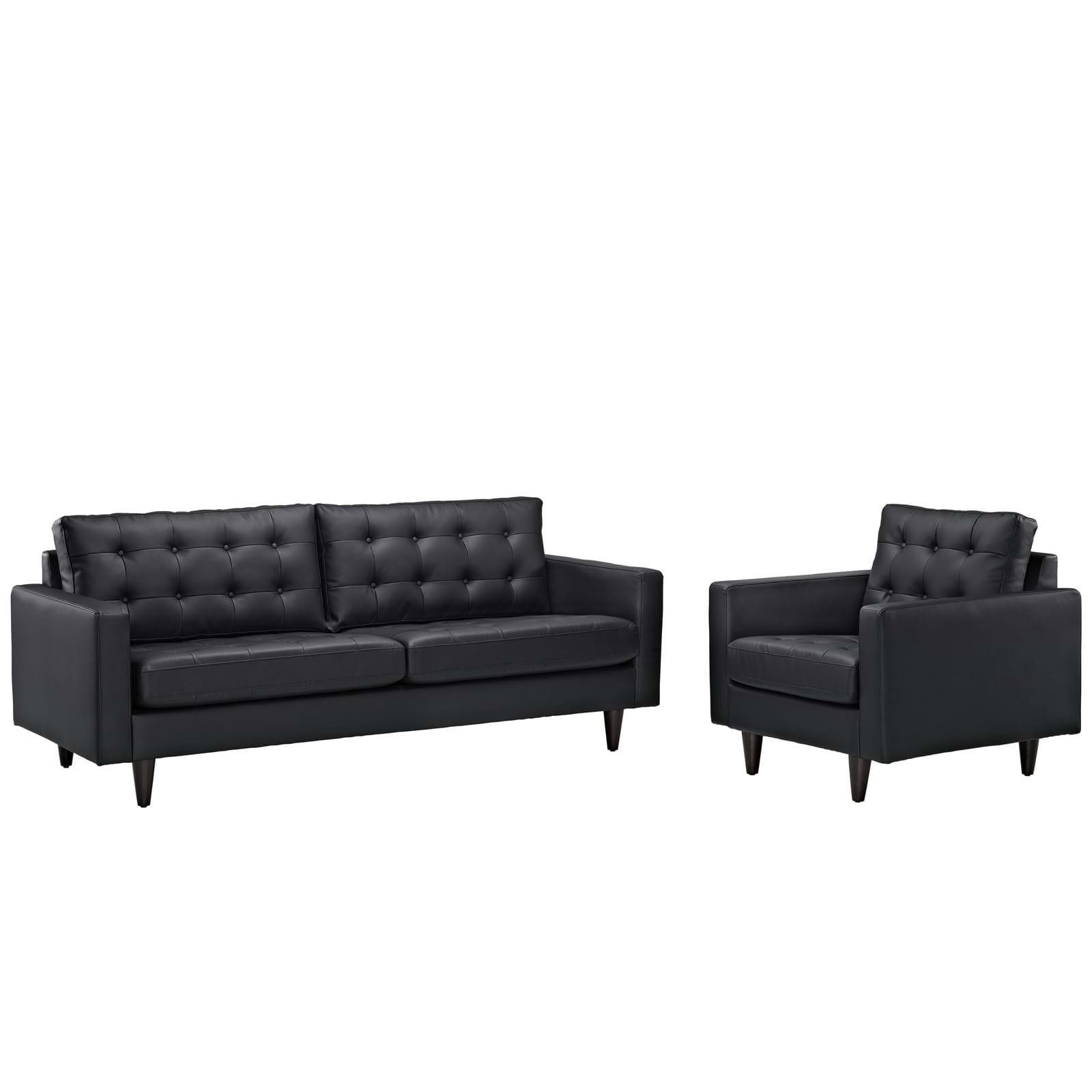 Empress Sofa and Armchair Set of 2