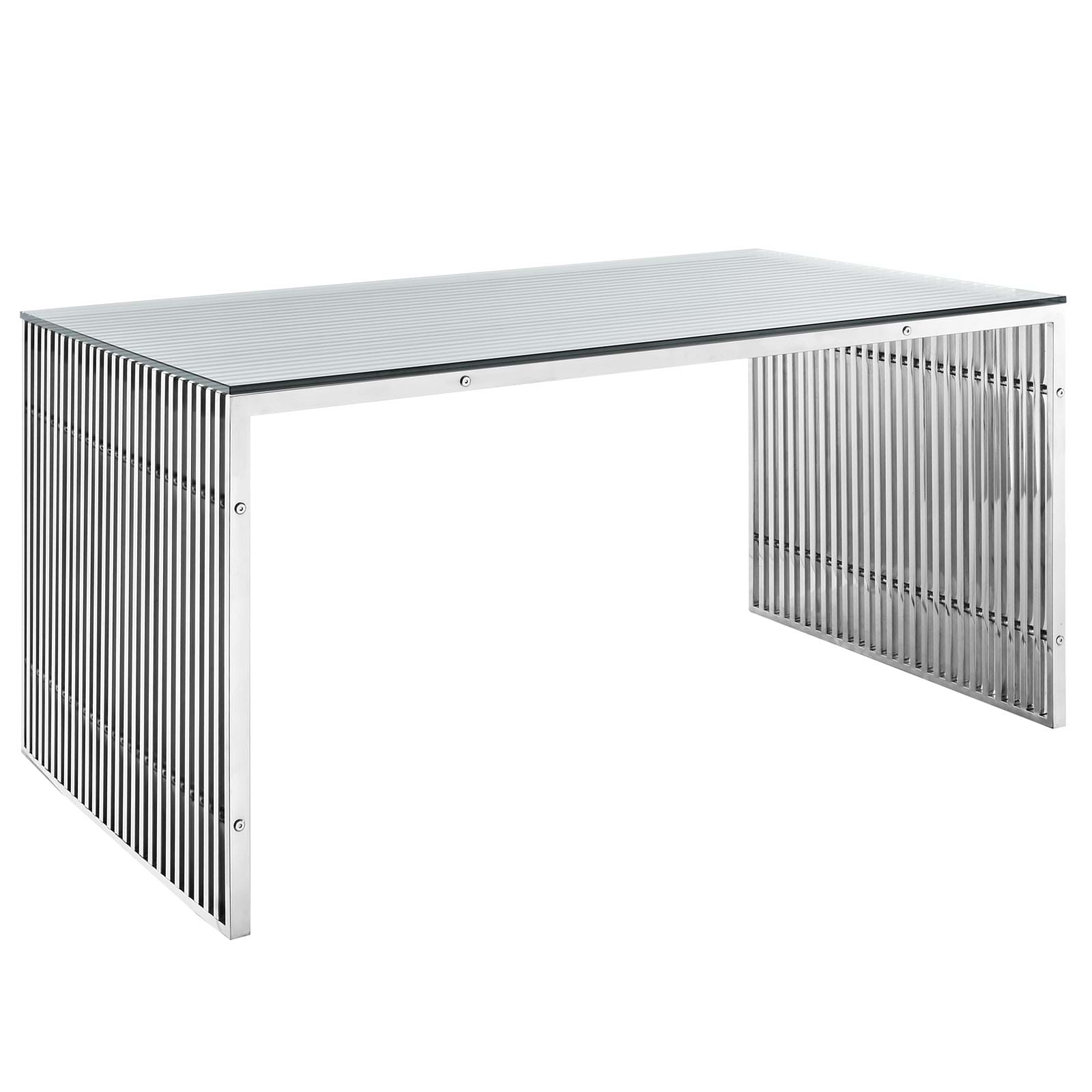 Gridiron Stainless Steel Dining Table
