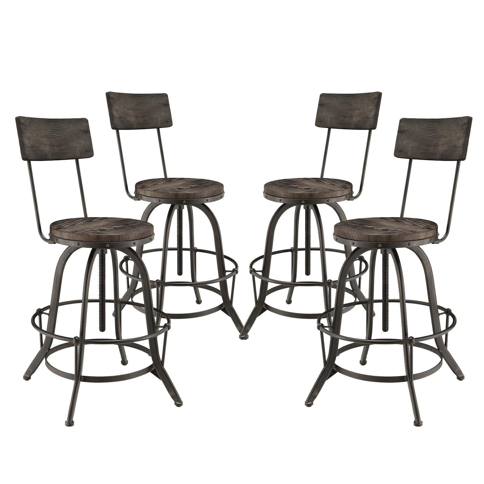 Procure Bar Stool Set of 4