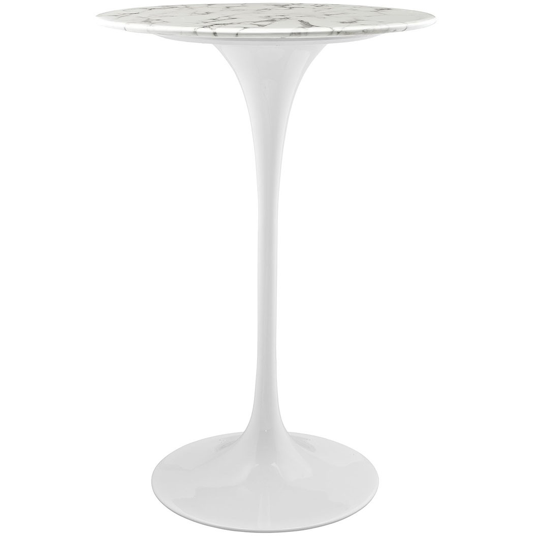 "Lippa 28"" Marble Bar Table"