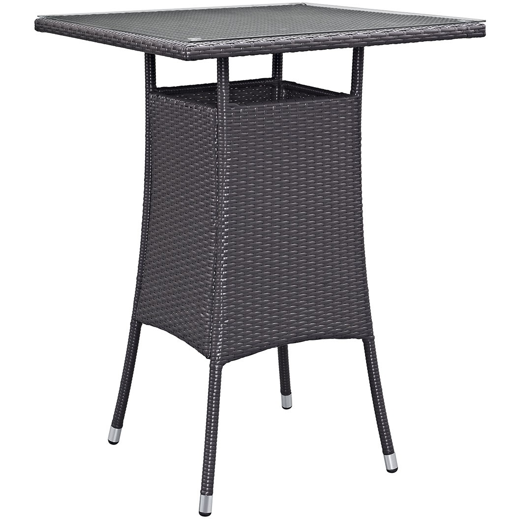 Convene Small Outdoor Patio Bar Table
