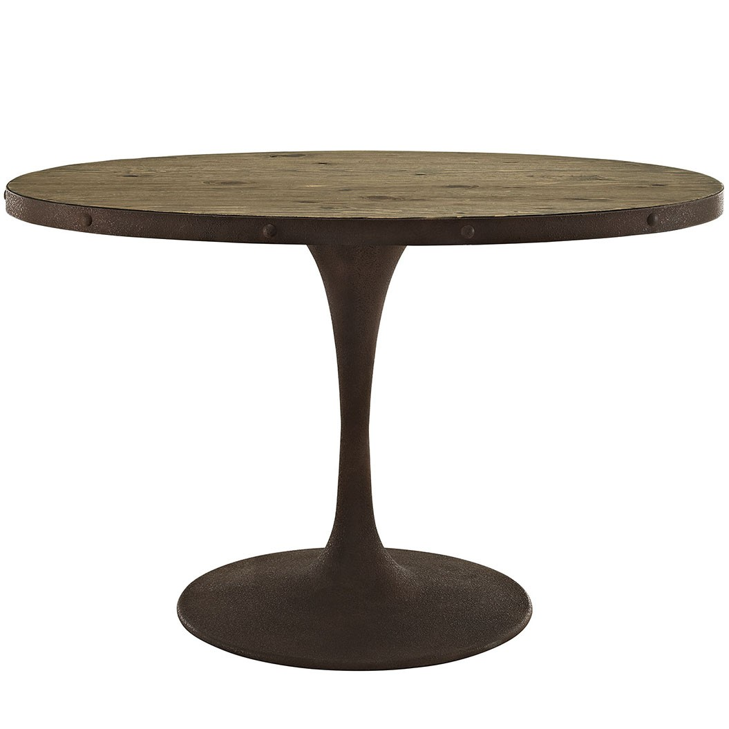 "Drive 47"" Oval Wood Top Dining Table"