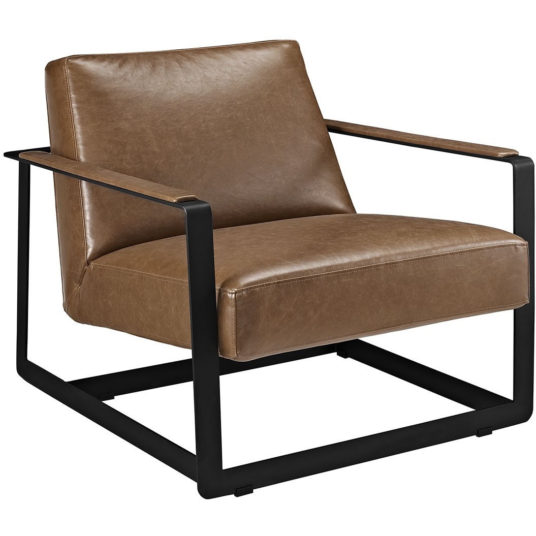 Seg Vinyl Accent Chair