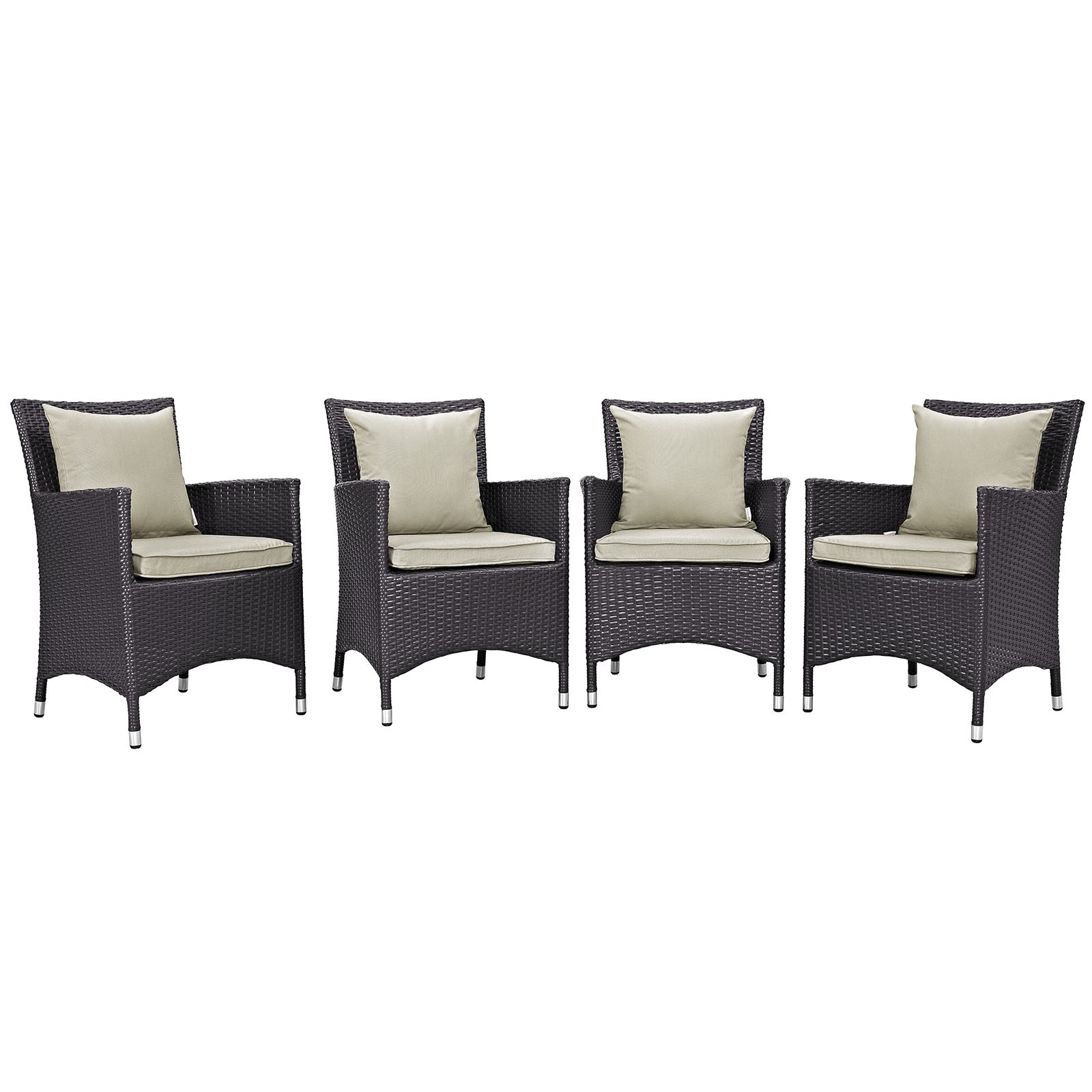 Convene 4 Piece Outdoor Patio Dining Set