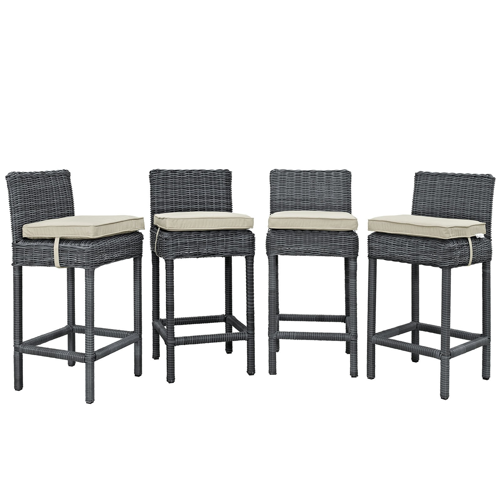 Summon Bar Stool Outdoor Patio Sunbrella