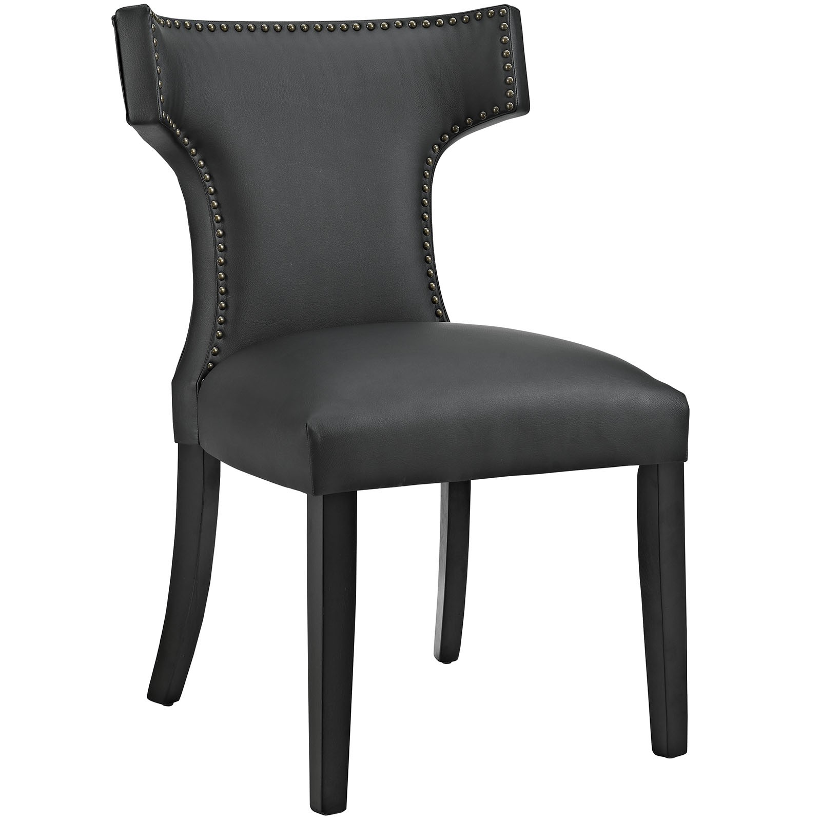 Curve Vinyl Dining Chair