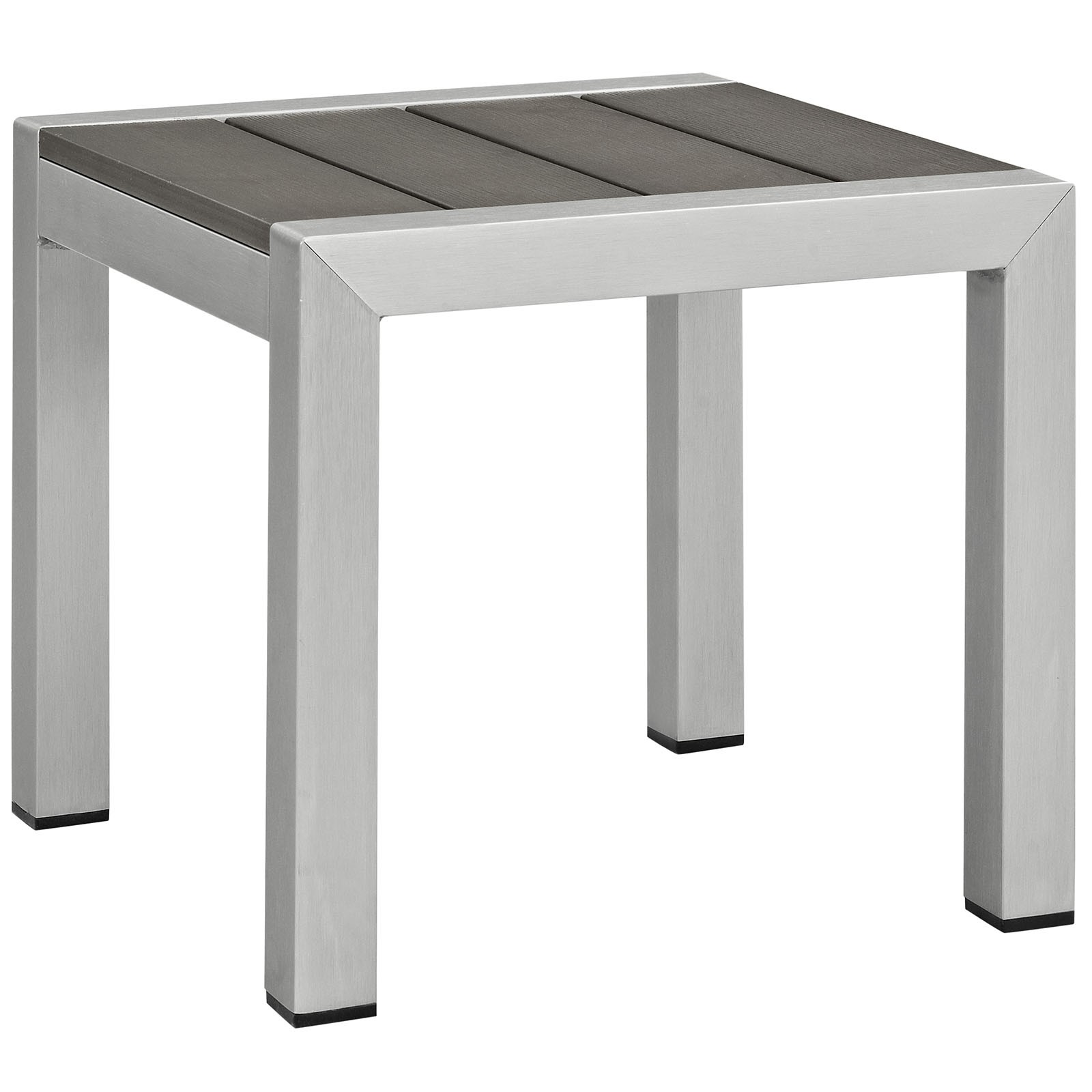 Shore Outdoor Patio Aluminum Side Table
