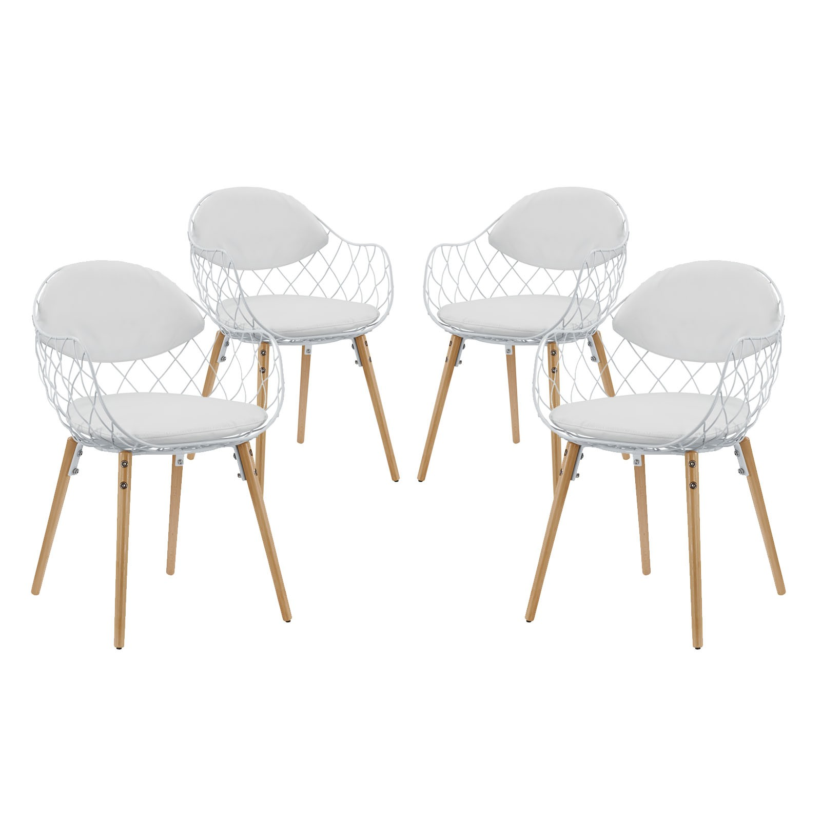 Basket Dining Set Set of 4