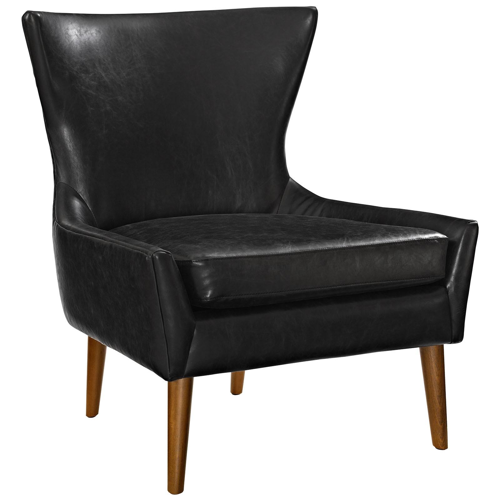 Keen Upholstered Vinyl Armchair
