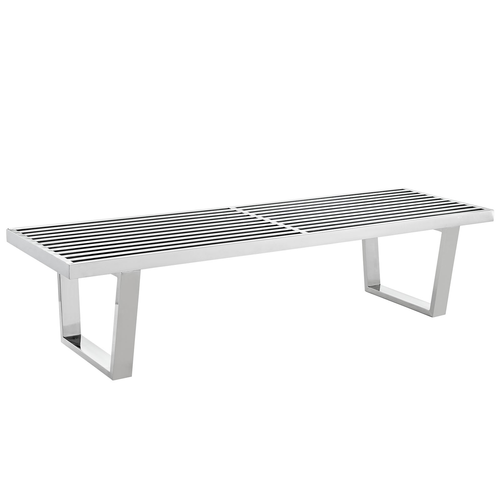 Sauna 5' Stainless Steel Bench
