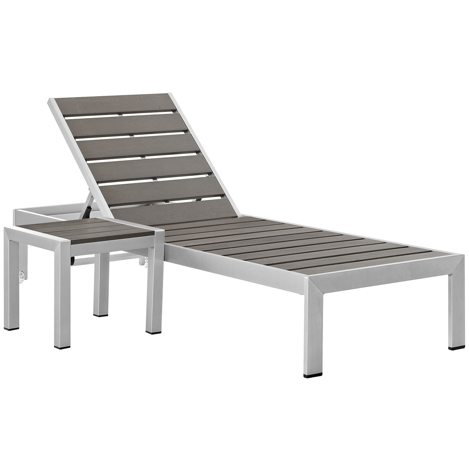 Shore Outdoor Patio Set Outdoor Patio Aluminum 2 Piece
