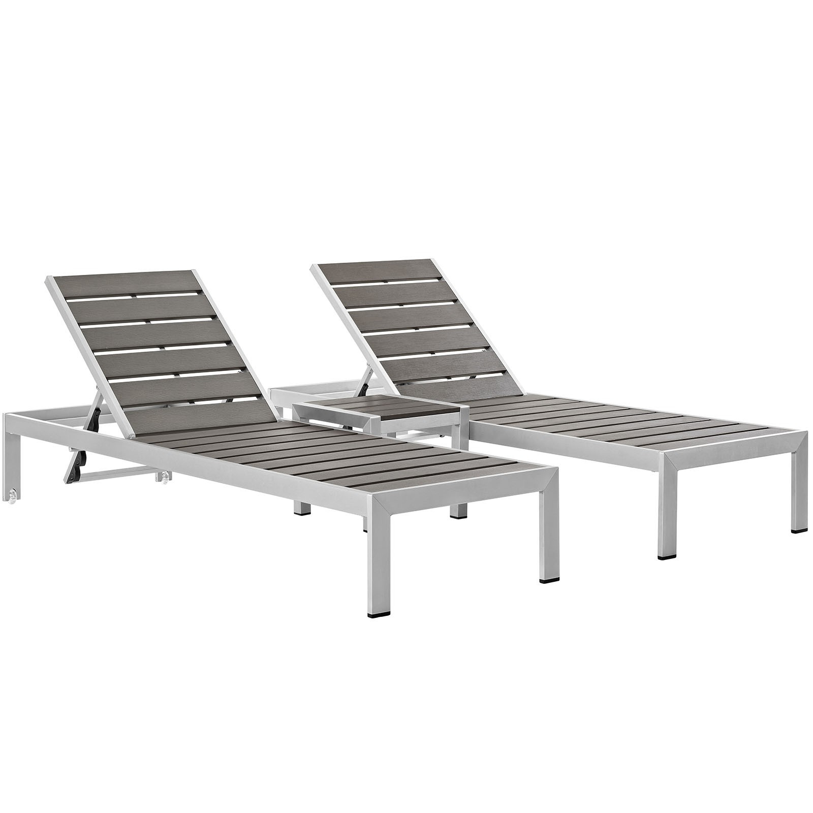 Shore Outdoor Patio Set Outdoor Patio Aluminum 3 Piece