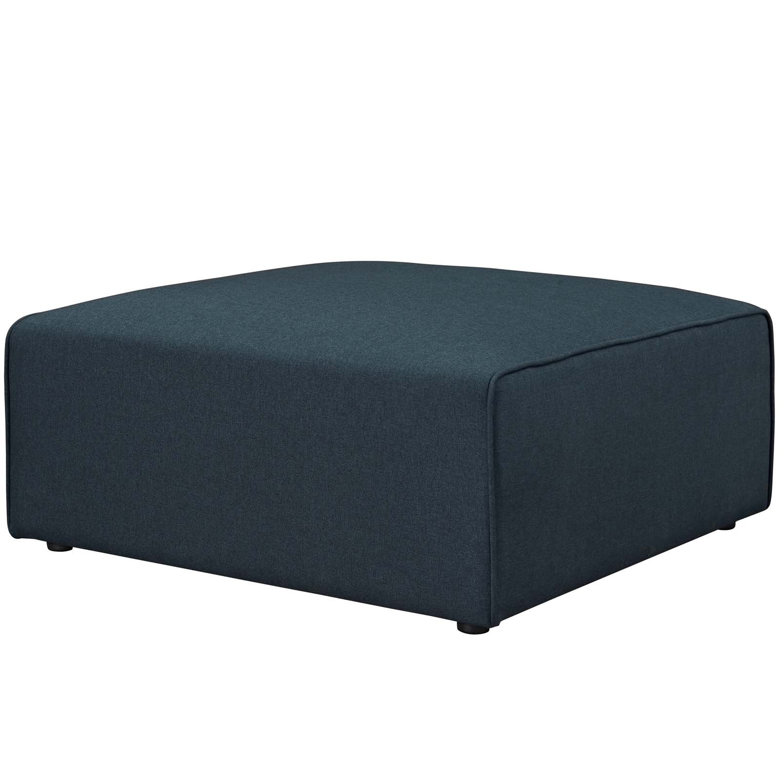 Mingle Fabric Ottoman