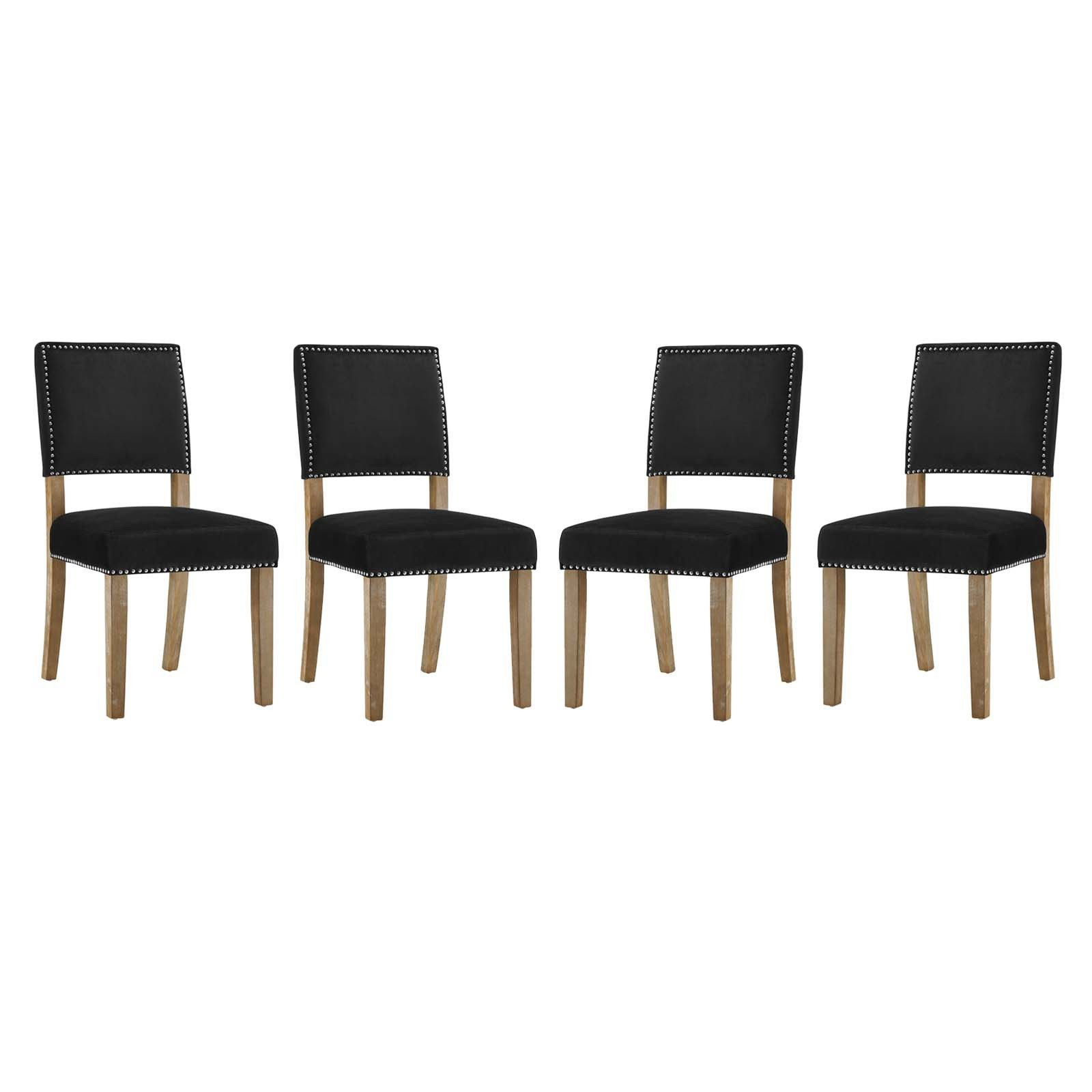 Oblige Dining Chair Wood Set of 4