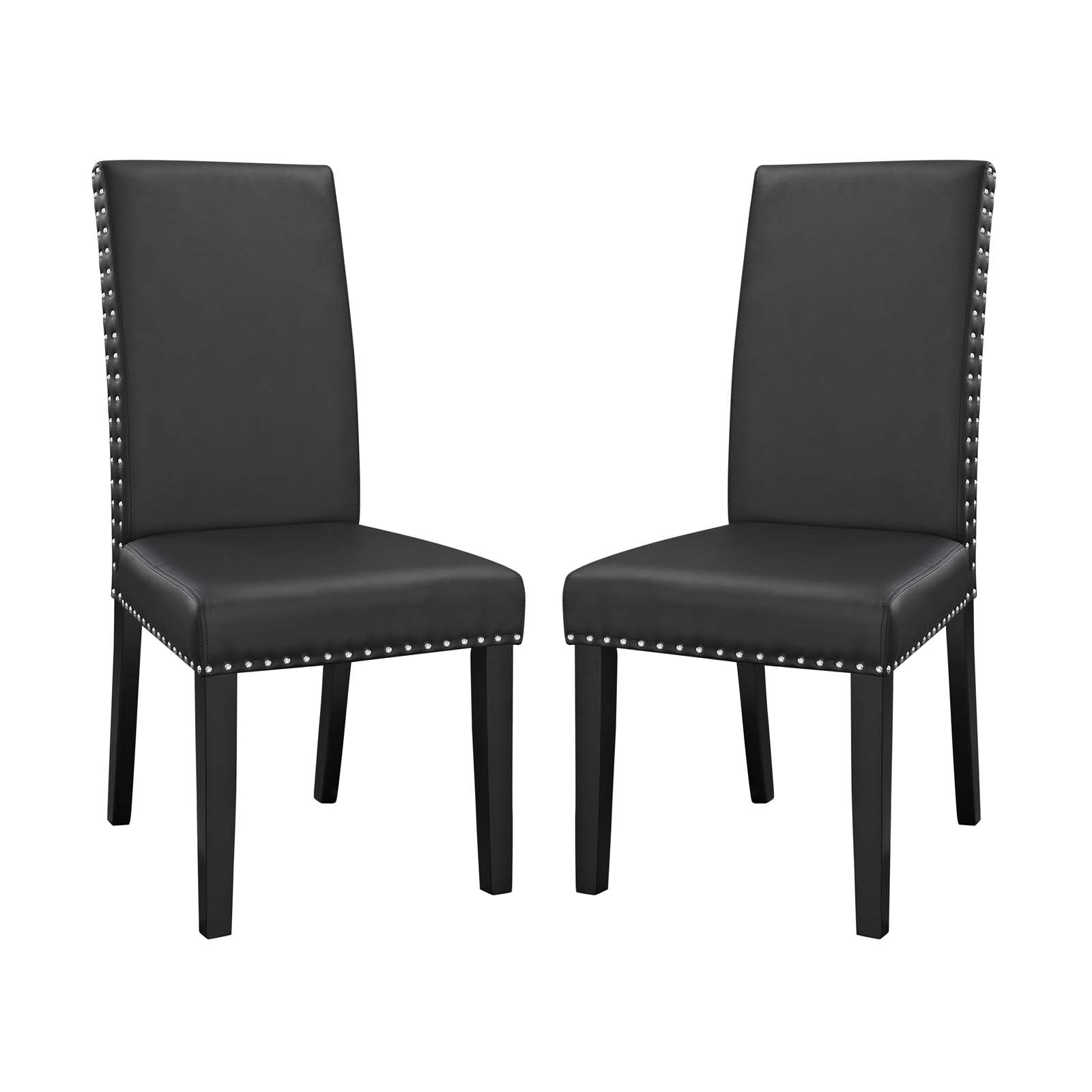 Parcel Dining Side Chair Vinyl Set of 2