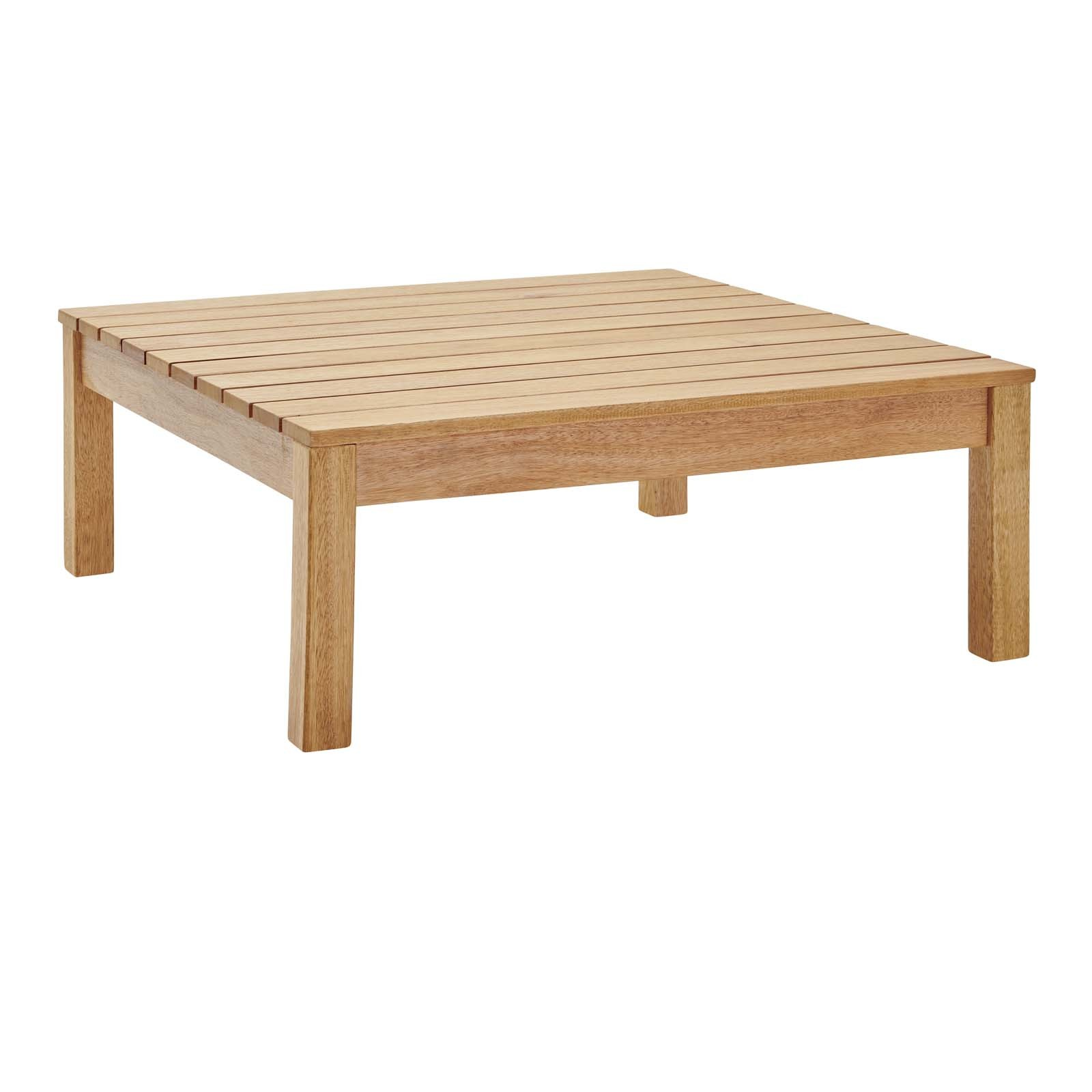 Freeport Outdoor Patio Patio Coffee Table in Natural