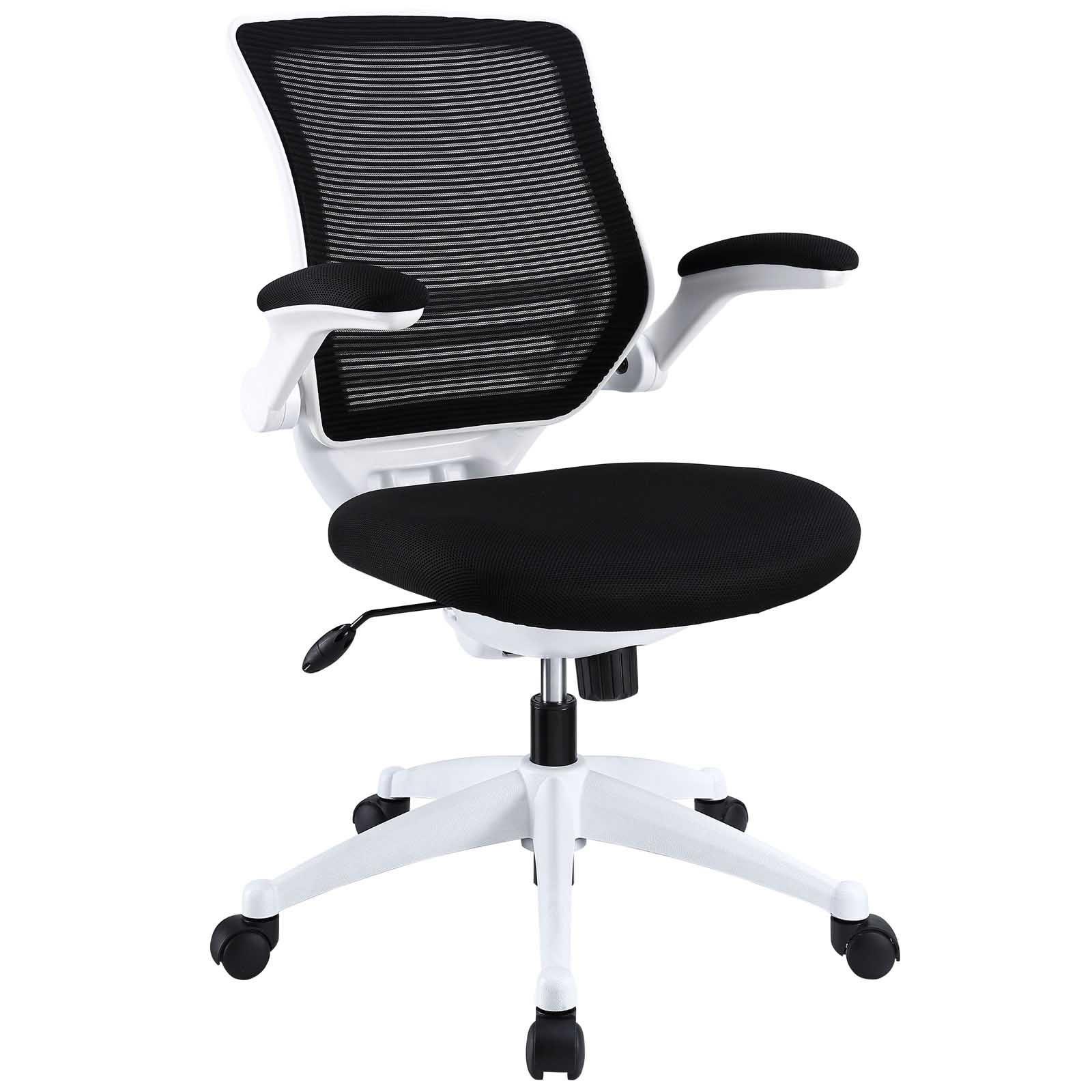 Edge White Base Office Chair