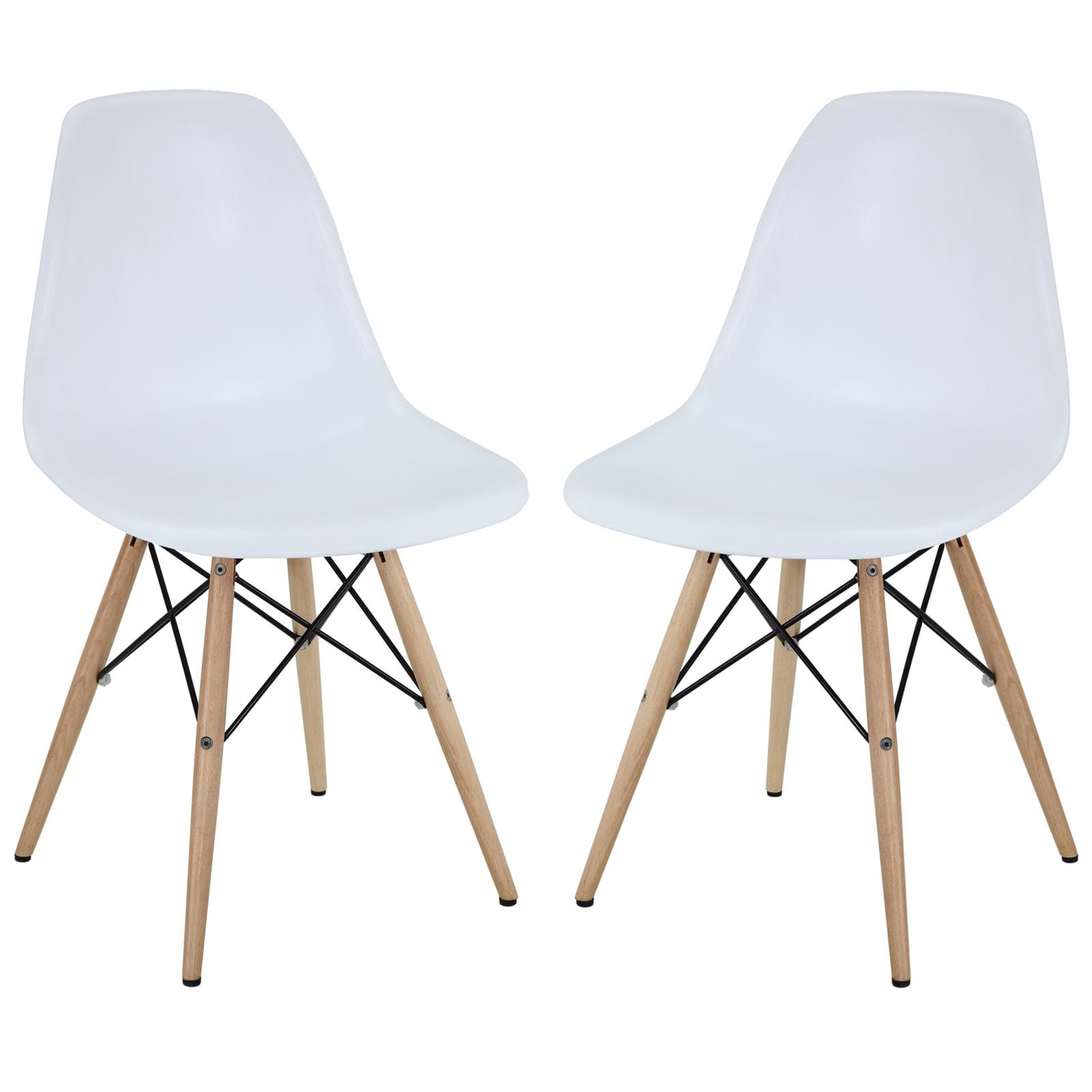 Pyramid Dining Side Chairs Set of 2