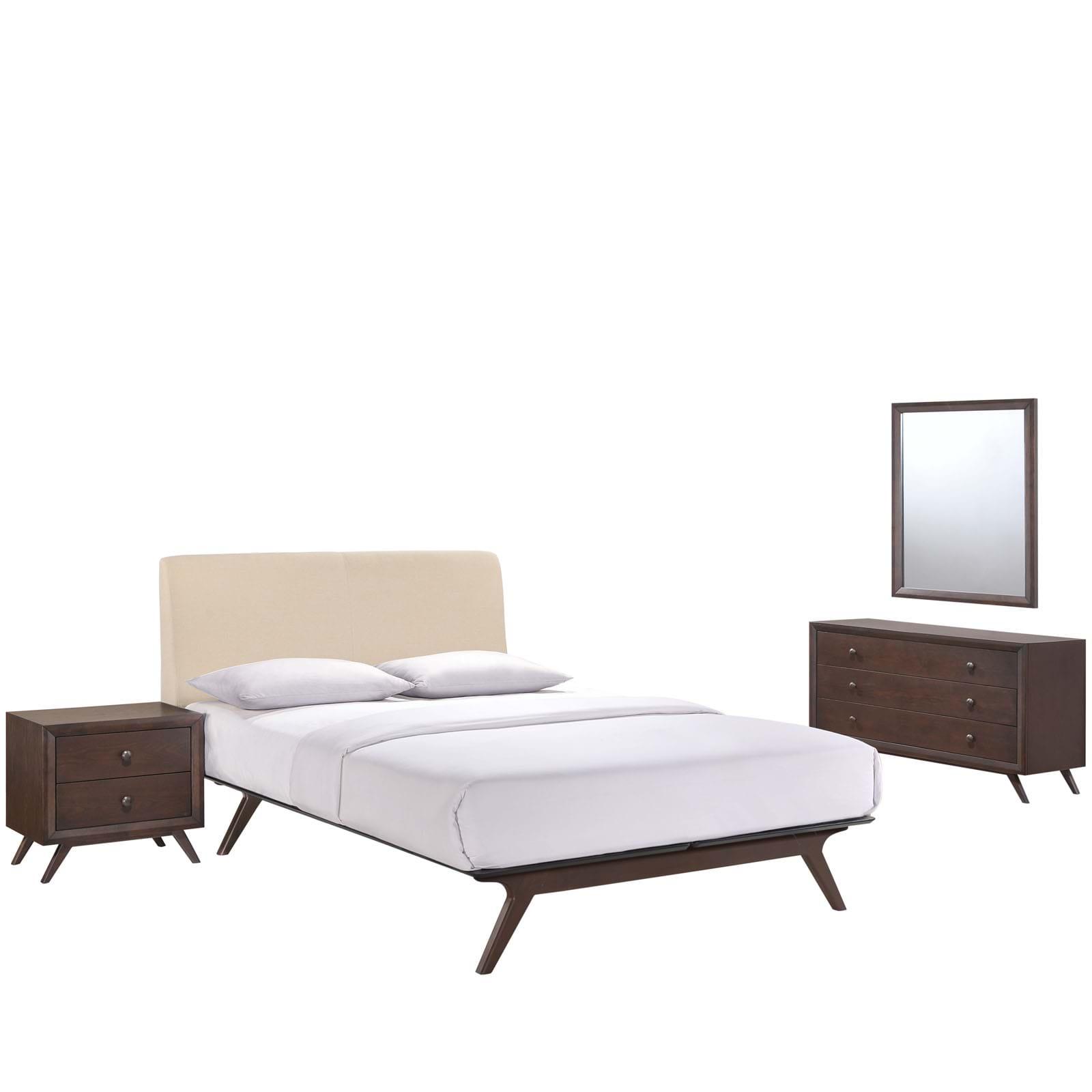 Tracy 4 Piece Queen Bedroom Set