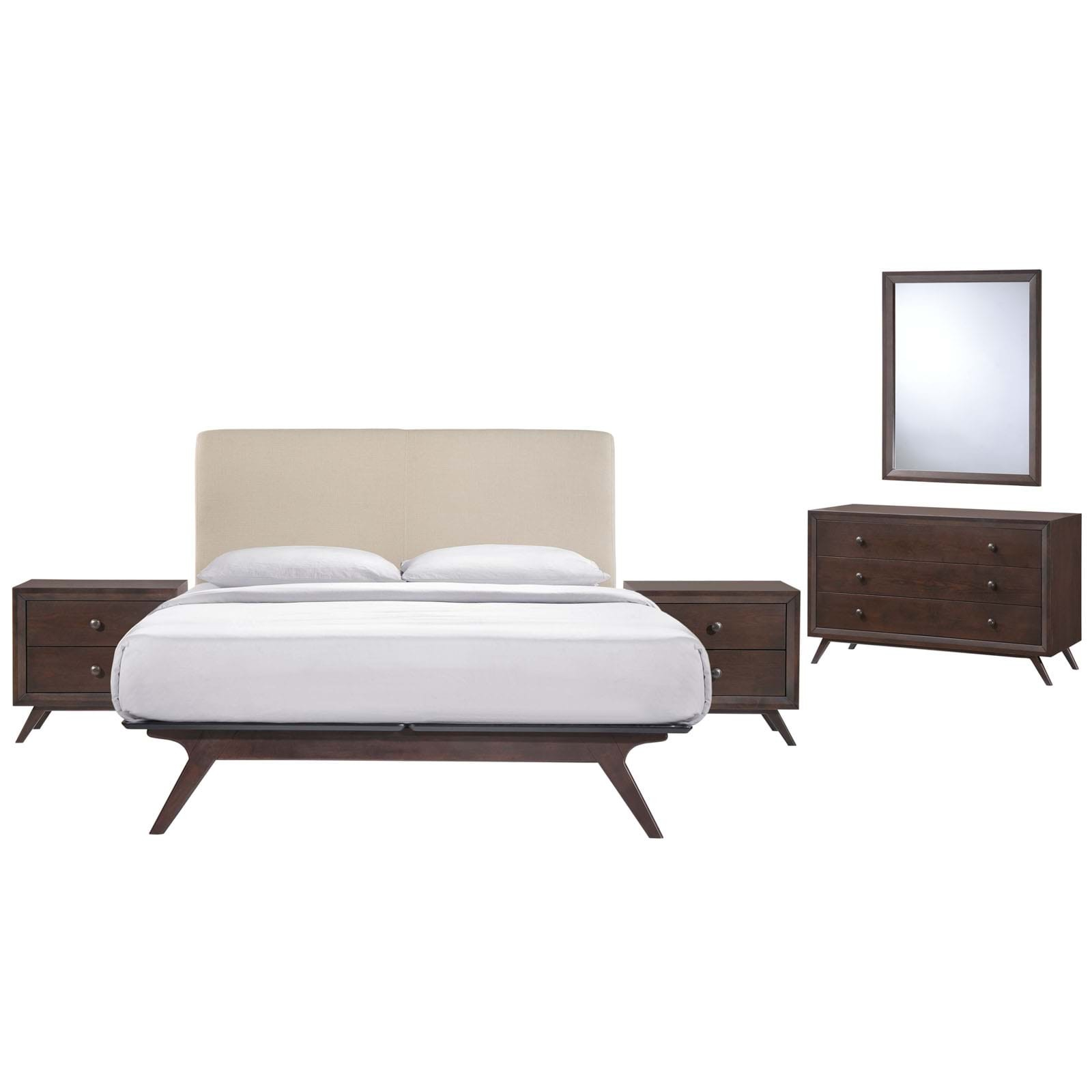 Tracy Queen Bedroom Set - 5 Piece