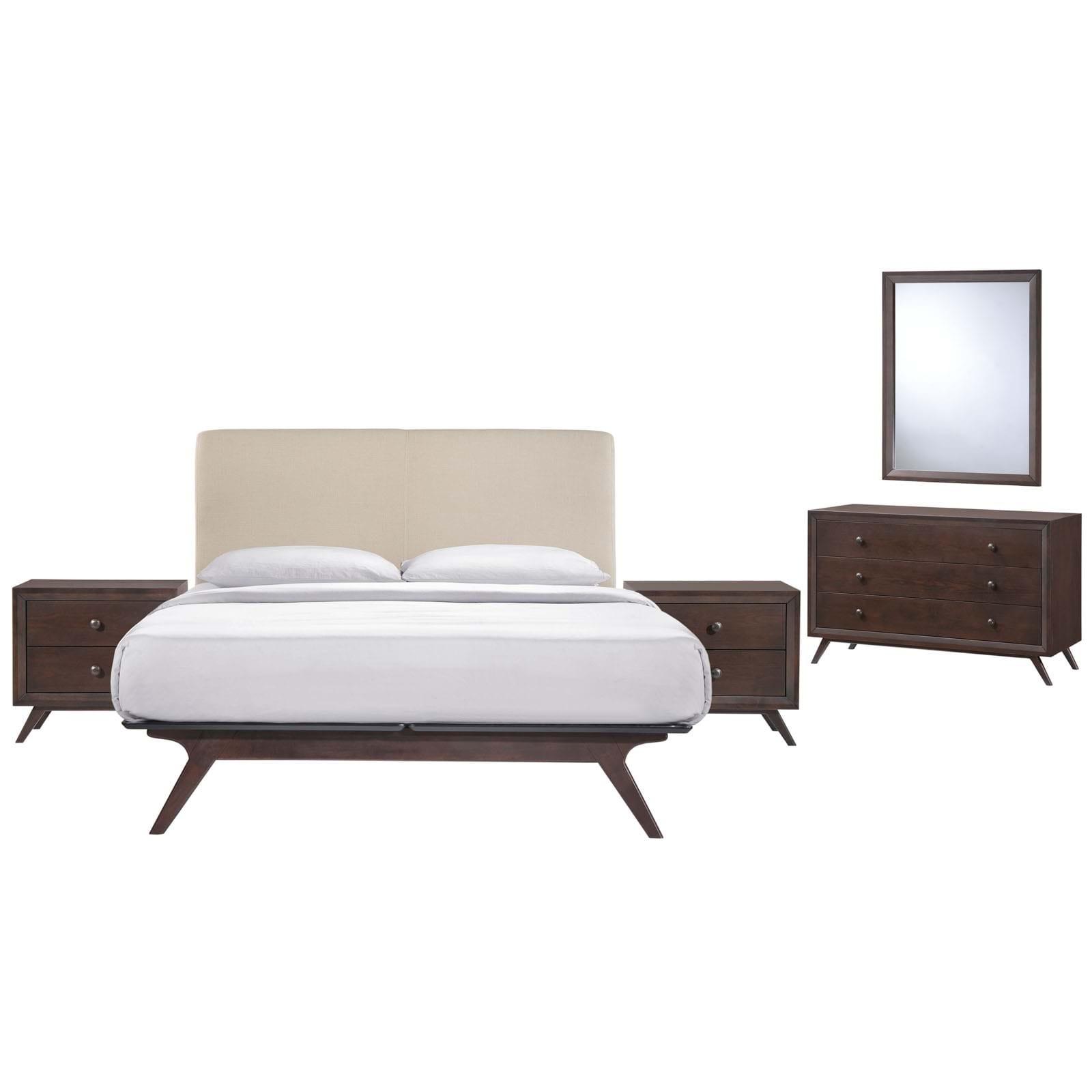 Tracy Queen Bedroom Set - 5 Piece