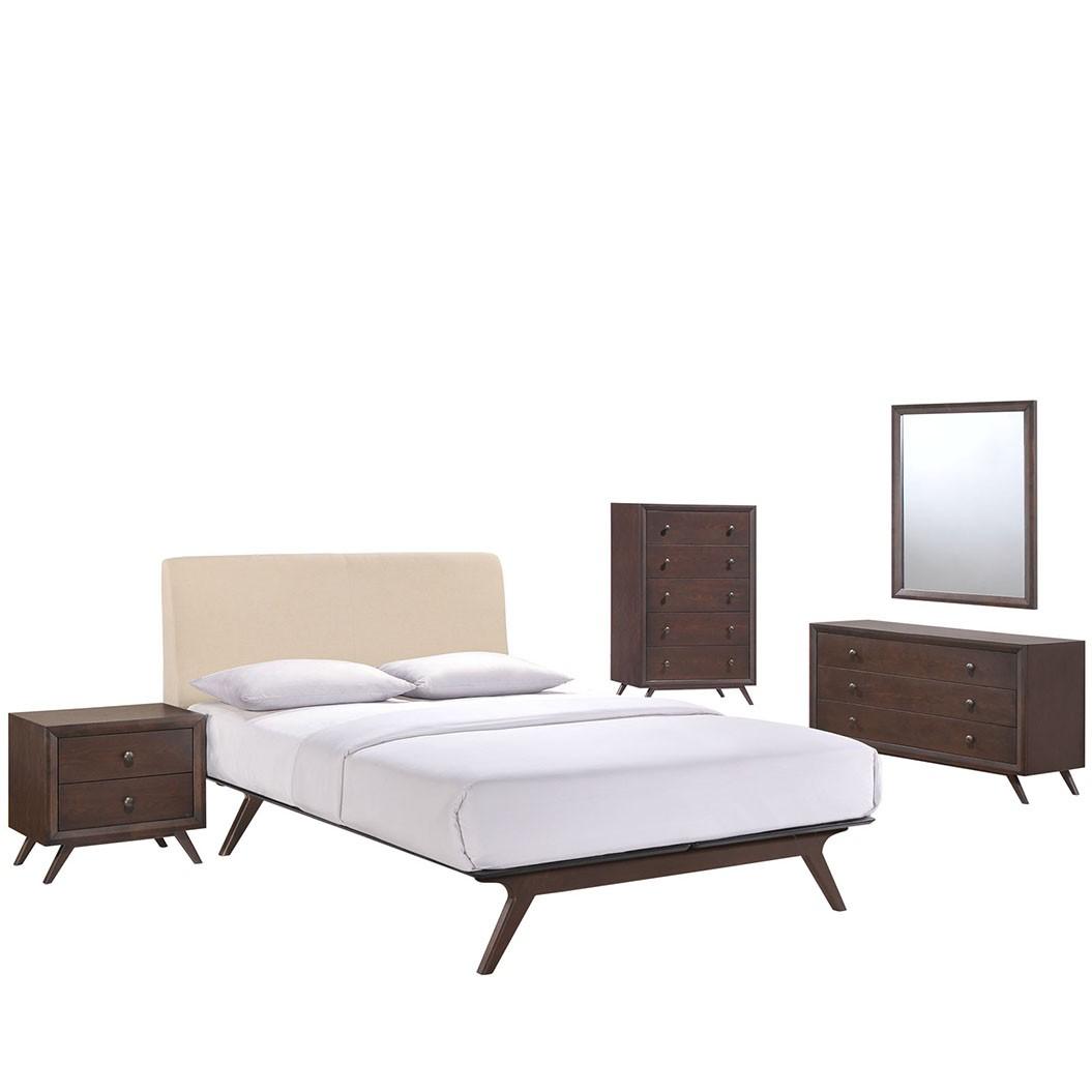 Tracy 5 Piece Queen Bedroom Set