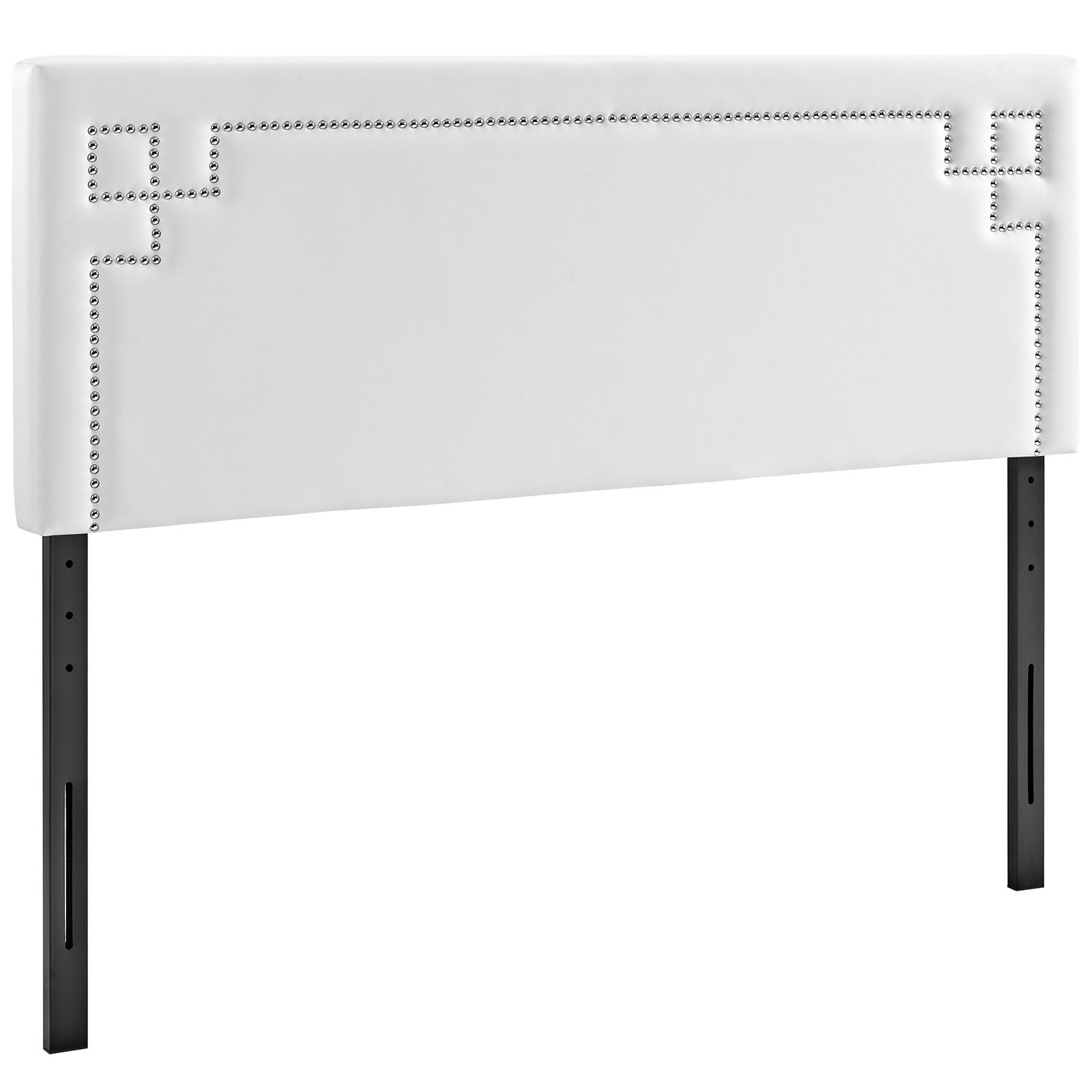 Josie Full Vinyl Headboard in White