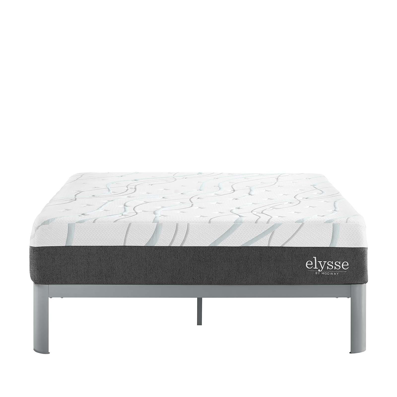 """Elysse King Certified Foam 12"""" Gel Infused Hybrid Mattress"""