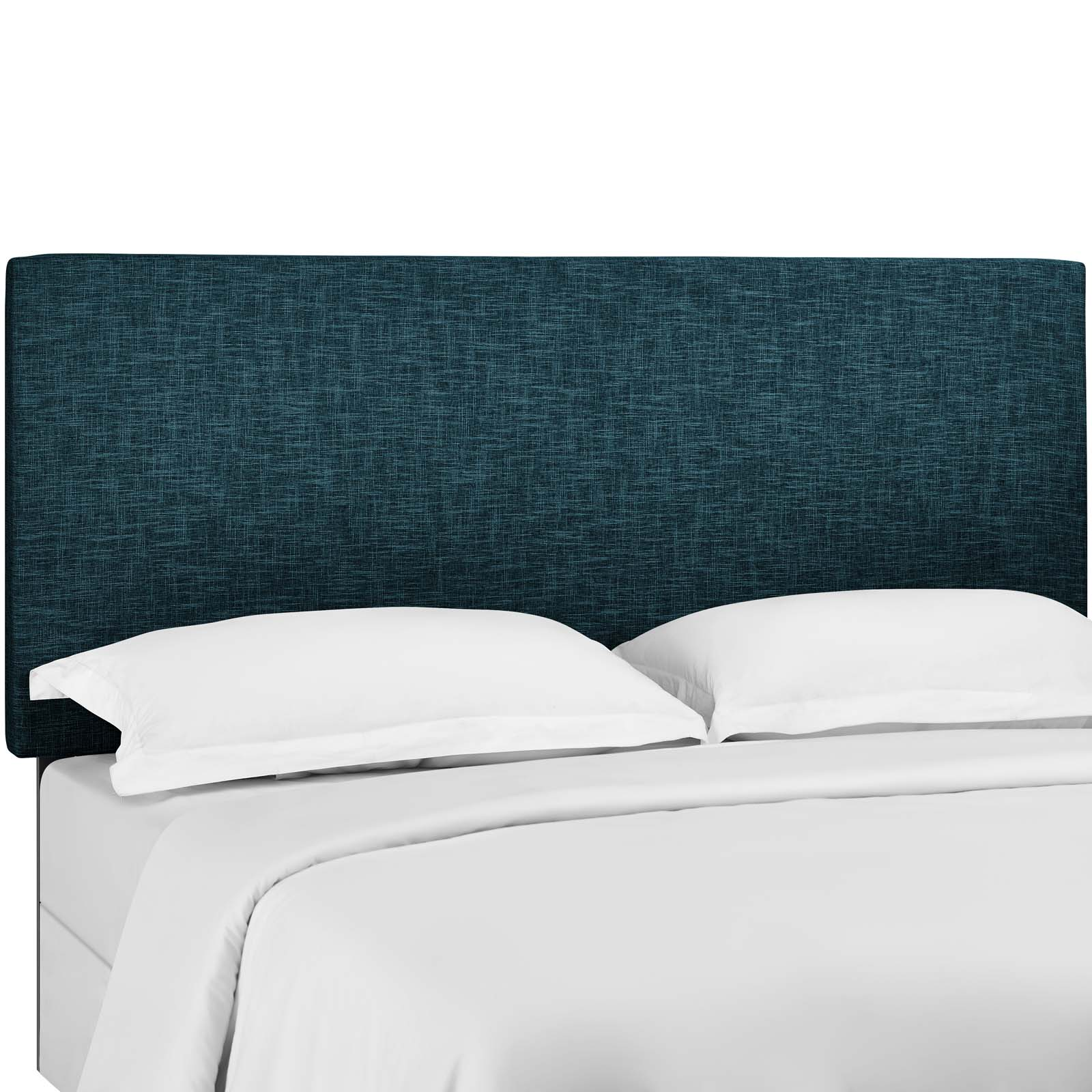 Taylor Twin Upholstered Linen Fabric Headboard