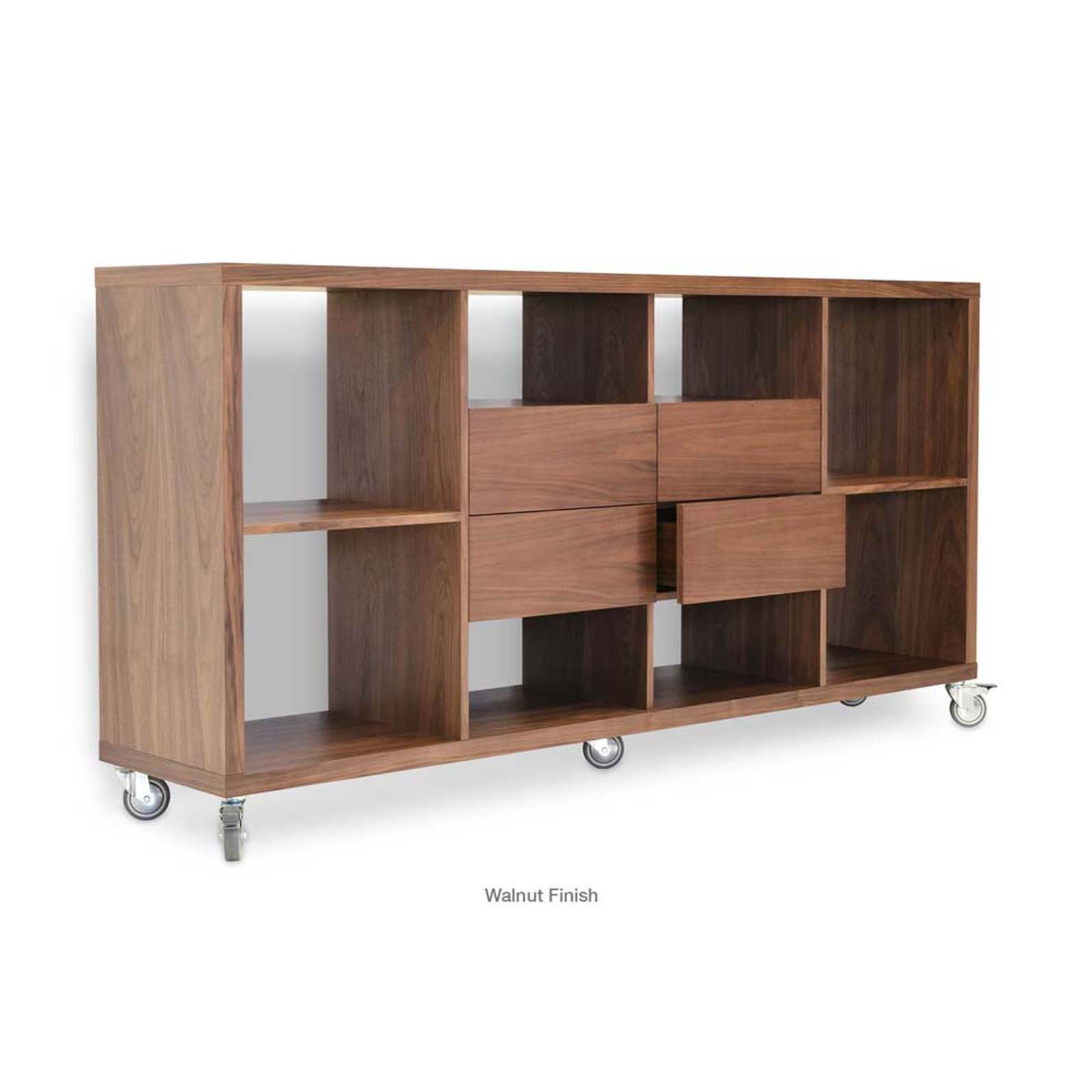 Malta Bookcase with Drawers