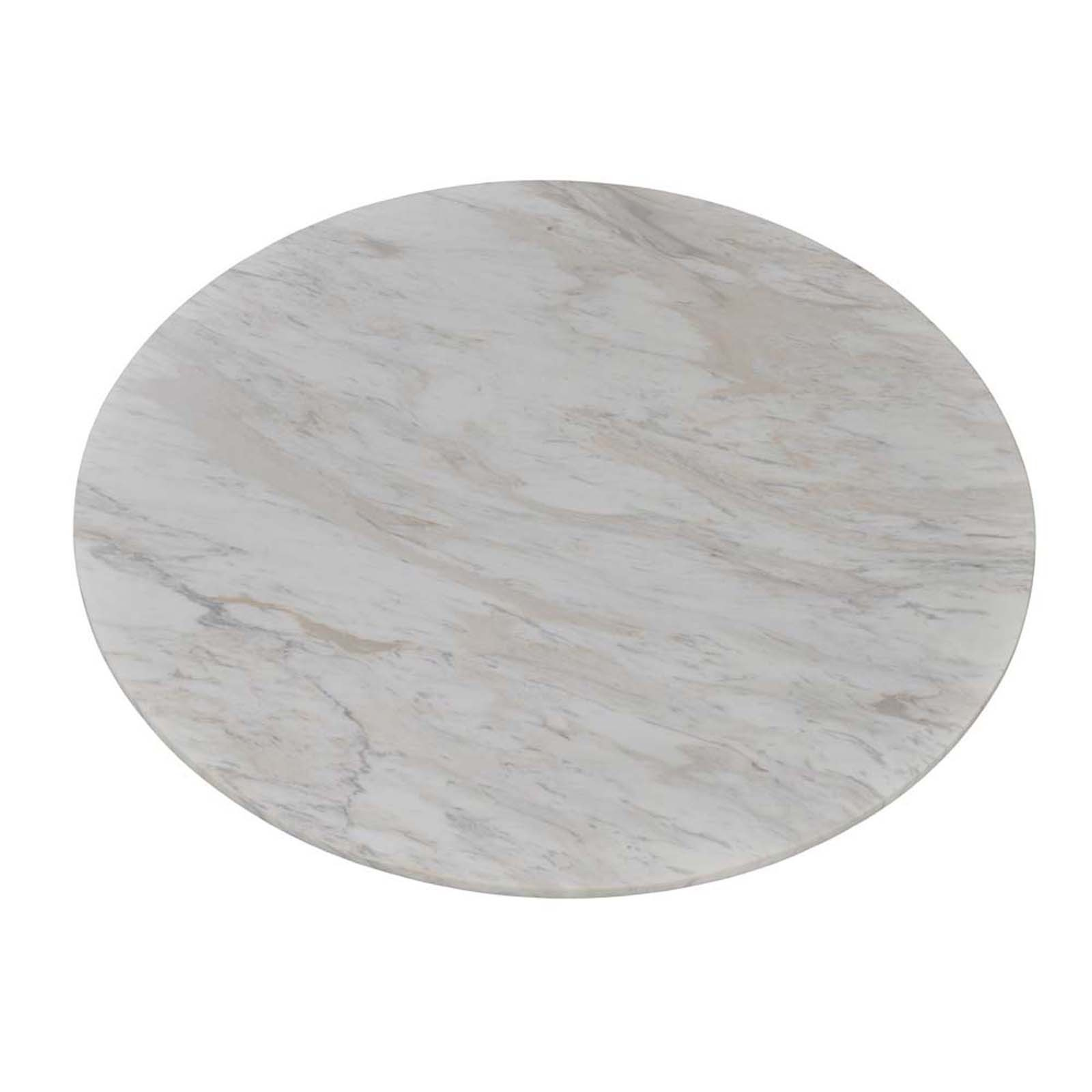 """18.9"""" Italian Marble Round Table Top"""