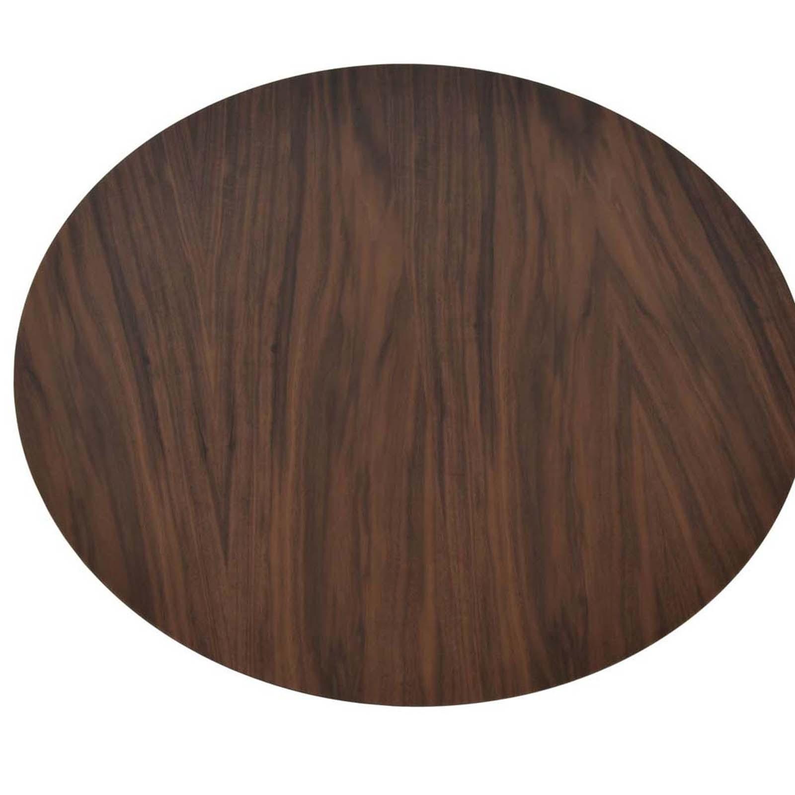 """21.5"""" Wood Veneer Round Table Top"""