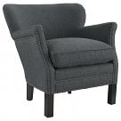 Key Fabric Armchair