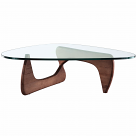 Noguchi Coffee Table Reproduction Walnut