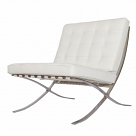 Barcelona Chair Replica White