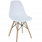 DSW Dining Side Chair Wood Base Dowel Legs