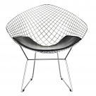 Bertoia Style Diamond Wire Chair