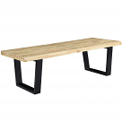 George Nelson Style Bench 72""