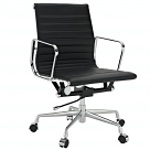 Modern Ribbed Mid Back Office Chair