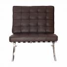 Barcelona Chair Replica Brown