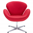 Arne Jacobsen Style Swan Chair - Wool