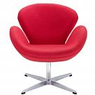 Arne Jacobsen Style Swan Chair - Wool
