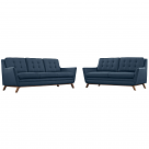 Beguile Fabric Living Room Set (2 Piece)